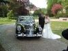Der schönste Tag mit einem schönen Hochzeitsauto