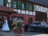 Mit dem Hochzeitsauto jede Fahrt genießen