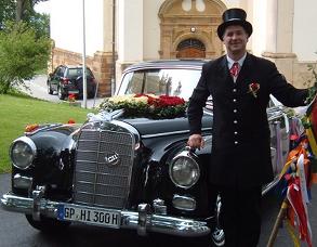 Hochzeitsfahrt mit Ihrem persönlichen Chauffeur